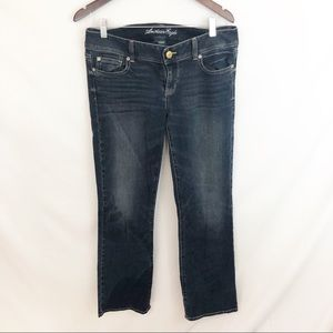 American Eagle Dark Wash Size 10 Jeans